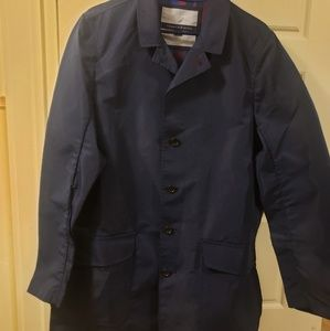 Mens Packable overcoat Tommy Hilfiger size small